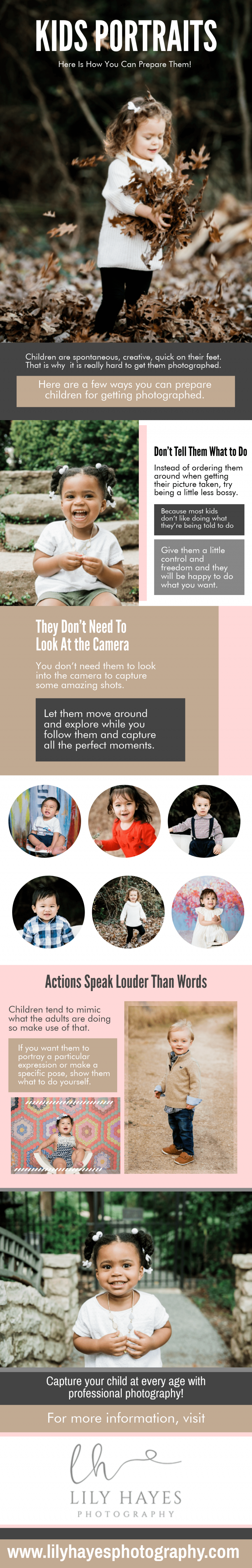 Kids Portraits -Here's how You Can Prepare Them